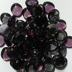 2 Lbs 200 plus Purple mosaic glass gems